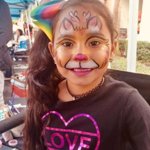 FACE PAINTING Not too much yet not too little, but just the right amount of Pooof Production Balloon decor will make you feel like you're floating…yes, like you're floating on…