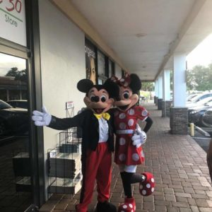 Party Characters in Orlando