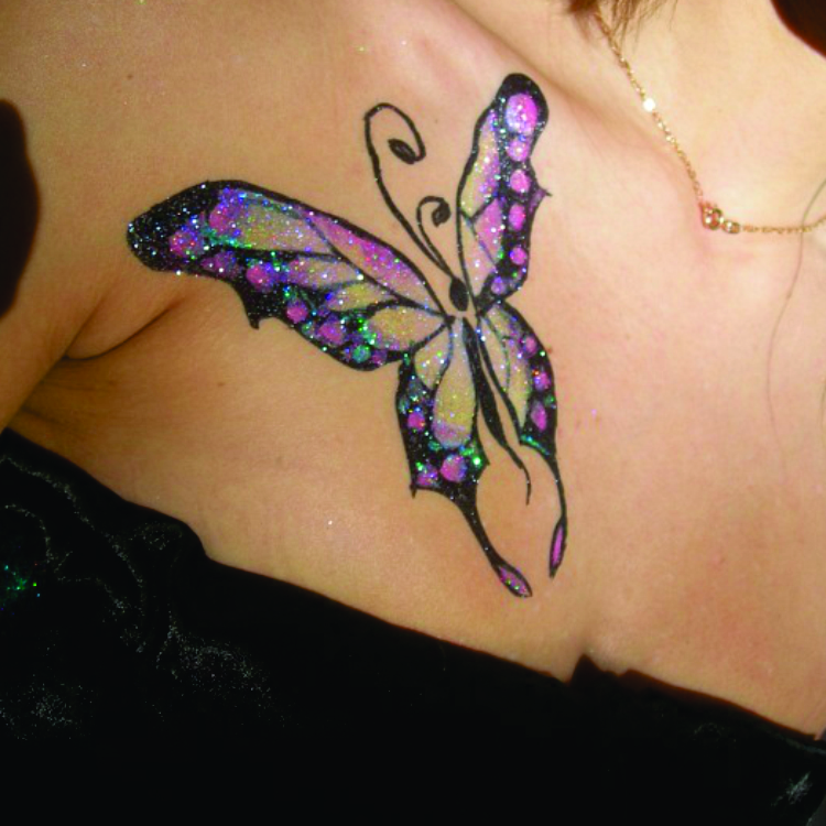 Airbrush Tattoo Artist